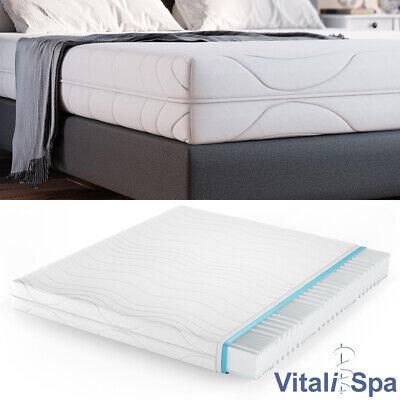 VitaliSpa® 7 Zonen Kaltschaum Matratze 160x200 cm H2 Marken Schaumkern 20 cm