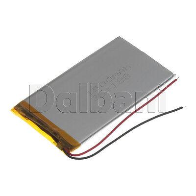 New 3.7V 1500mAh Internal Li-ion Polymer Built-in Battery 85x48x3mm 29-16-0658