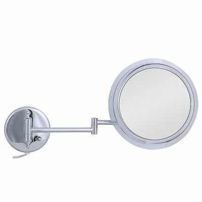 Zadro Fluorescent Lighted Make-up Mirror 5x Surround Light  (Wall Mount Use)