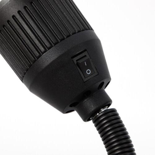 5W 500mm flexible CNC-Maschine Arbeitslampe Licht LED Fixed Base Tool