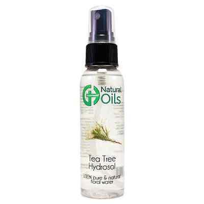 2 fl oz Tea Tree Floral Water  w/ Black Spray Cap