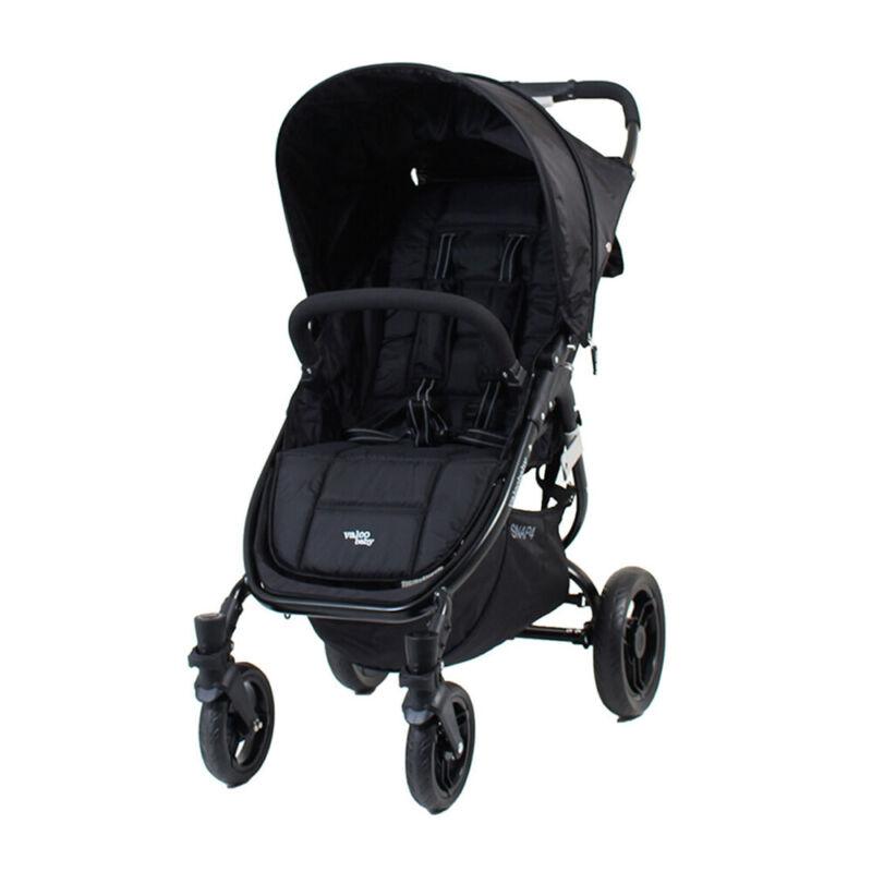 Valco Baby Snap 4 Black Pram/Stroller Foldable/Recline for Baby/Infant/Toddler