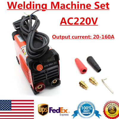 220v Ac Inverter Welder Tig Mini Handheld Arc Welding Machine Mma 20-160a Igbt