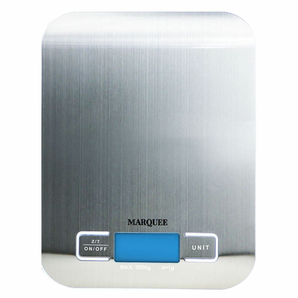 Sunco Digital Kitchen Scale Slim Stainless Steel Food Grade