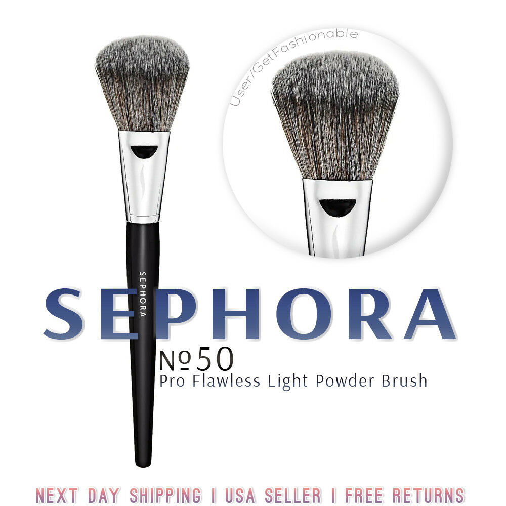 Pro Flawless Light Powder Brush #50 by Sephora Collection #3