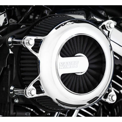 Vance & Hines VO2 Rogue Air Cleaner Intake 1991-2017 Harley Sportster Chrome