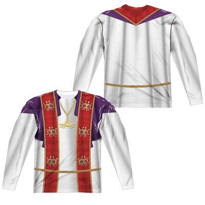 FLYING PRIEST COSTUME Adult Men's Long Sleeve Tee Shirt SM-3XL Halloween  - Halloween Priest