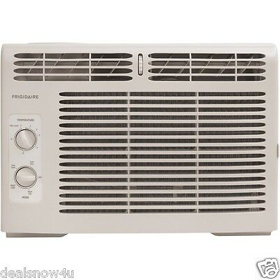 Window Air Conditioner Mini Compact 5000 BTU Quiet With Mounting Kit Save Energy