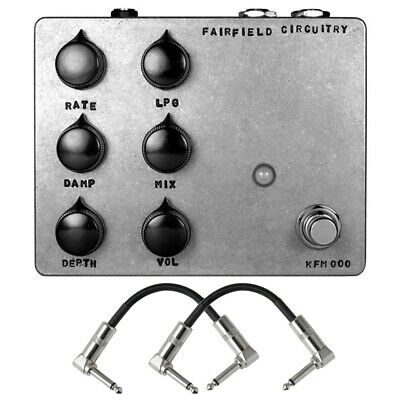 Fairfield Circuitry Shallow Water K-Field Modulator Guitar Effect Pedal + Cables