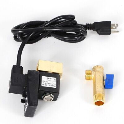110v Ac Automatic Electronic Timed Air Compressed Drain Valve 12 W Plugcable