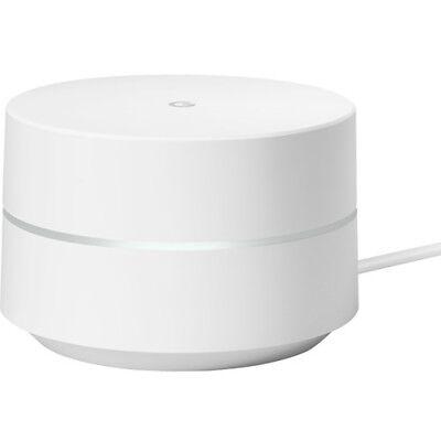 Google - Google Wifi AC1200 Dual-Band Mesh Wi-Fi Router - White