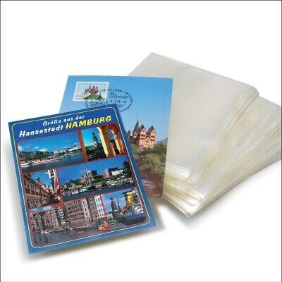 500 Ansichtskartenhüllen Postkartenhüllen Hüllen neue AK 110x155 mm 100 MY Klar
