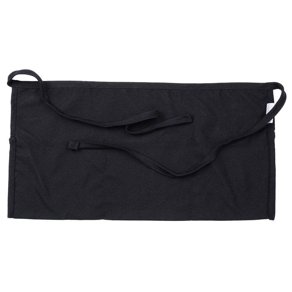 Купить Unbranded/Generic - 1 new black server apron, 3 pocket waist waiter waitress tip apron restaurant