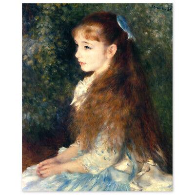 Pierre Auguste Renoir, Irène Cahen d'Anvers, Die kleine Irene, Poster