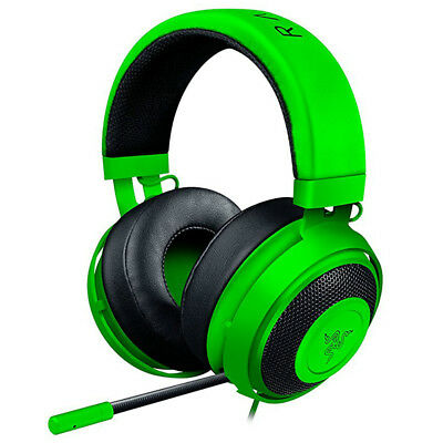 Razer Kraken Pro V2 Analog Gaming Headset for PC/Xbox One/PS4 Green Round