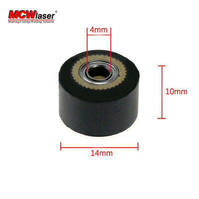 3x Pinch Roller For Mimaki Vinyl Cutting Cutte Plotter 4x10x14mm