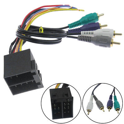 Best Car Stereo CD Player Wiring Harness Wire Adapter Plug For Aftermarket (Best Car Cd Player)