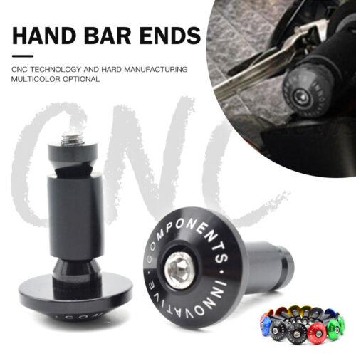 CNC Aluminum Handlebar Grips Bar Ends For Suzuki GSX-R 600 750 1000 K6 K8 K9
