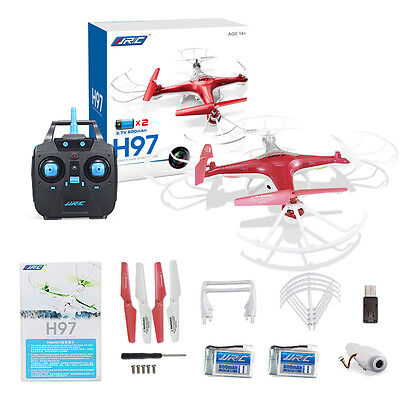 JJRC H97 Drone 2.4GHz 4CH 6 Achsen 3D RC Quadcopter Hubschraube mit HD Kamera