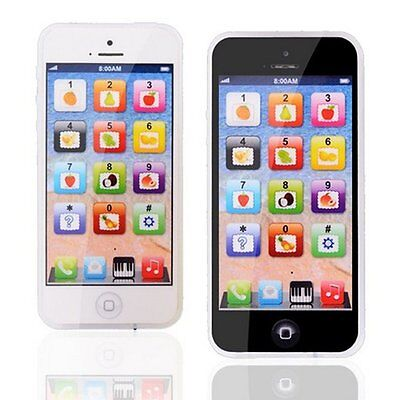 Baby iPhone Tablet Educational Toys 1 2 Year Old Toddler Learning Voice Activity