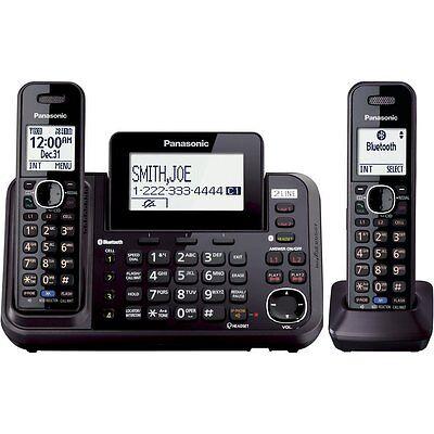 Panasonic KX-TG9542B Link2Cell Bluetooth  2-Line Phone with Answering Machine