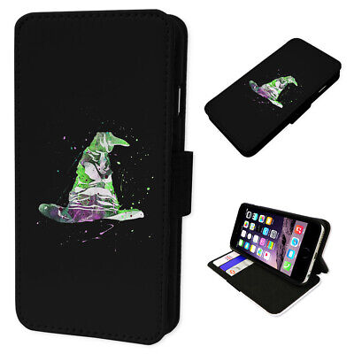 Sorting Hat Harry Potter - Flip Phone Case Wallet Cover Fits Samsung & Iphone