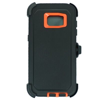 Black Or Samsung Galaxy S7 Edge Case w/ Screen &...