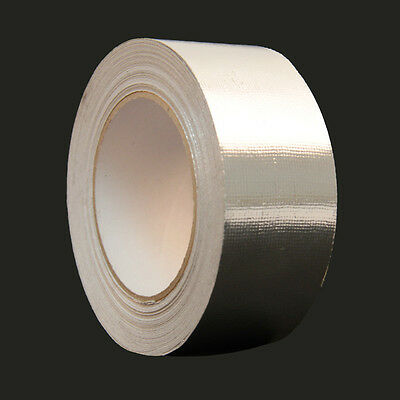 1 Roll 2 X 83 Ft Aluminum Foil Heat Shield Tape Reflector Sealing Adhesive