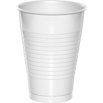 White Plastic Cups (Bulk White Plastic Cups,)