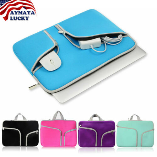 Laptop Sleeve Case Carry Bag for Macbook ProAir Dell Sony HP 11 12 13 14 15Inch