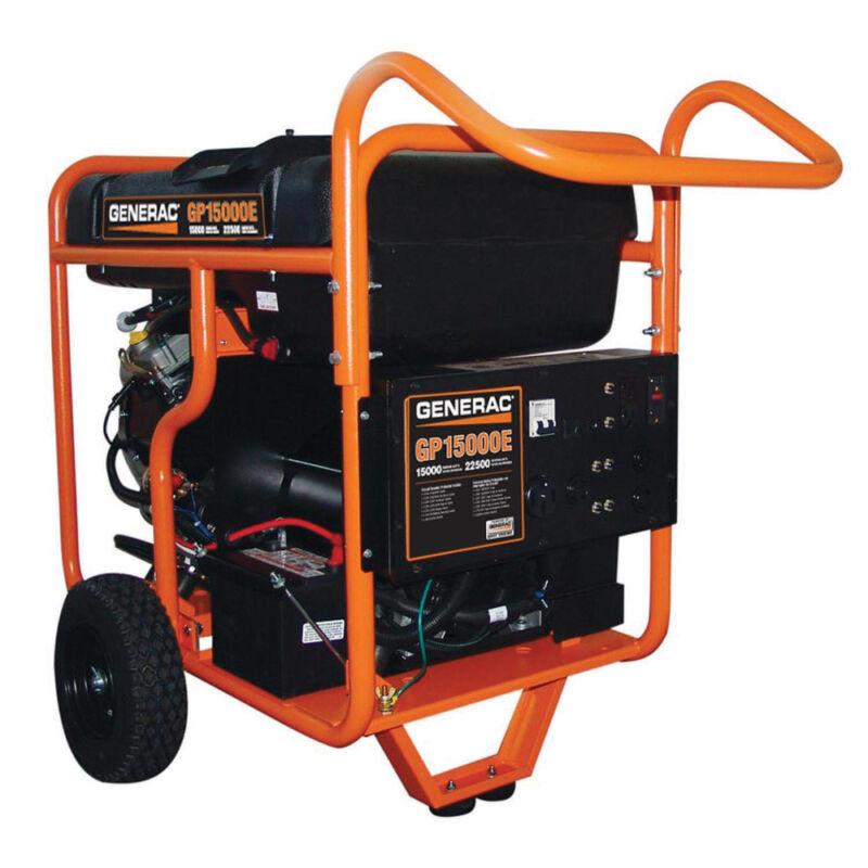 Generac GP15000E GP Series 15,000 W Portable Generator 5734 New