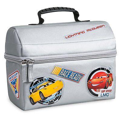 Disney Store Cars Lightning Mcqueen School Lunch Tote Box Bag