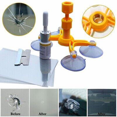 Windshield Repair Kit Quick Fix DIY Car Wind Glass Bullseye Rock Chip Crack (Repair Glasses)
