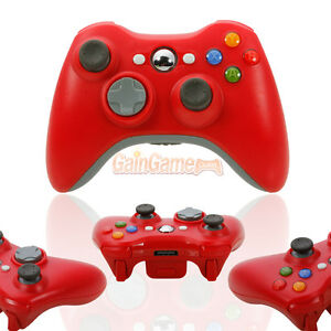 New-Red-Wireless-Game-Remote-Controller-for-Microsoft-Xbox-360-Console