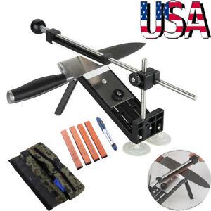 Knife Sharpener Stone Sharpening System Whetstones Apex Edge Pro II Kitchen Tool