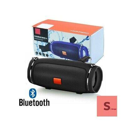 CASSA BLUETOOTH PORTATILE USB MP3 SPEAKER SMARTPHONE TABLET MINI MUSICA VIVAVOCE