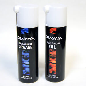 Daiwa fishing reel guard grease oil spray 100ml for Fishing reel grease