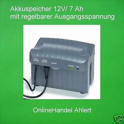 Akkuspeicher 12v/7a Battery Solar Pump Pond Pump Submersible Pump Solar
