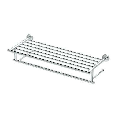 Gatco Glam 25.75 in. W Hotel Spa Rack in Chrome
