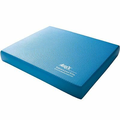 AIREX Balance Pad Elite 50 x 41 x 6 cm Blau   Balancetrainer Balancekissen