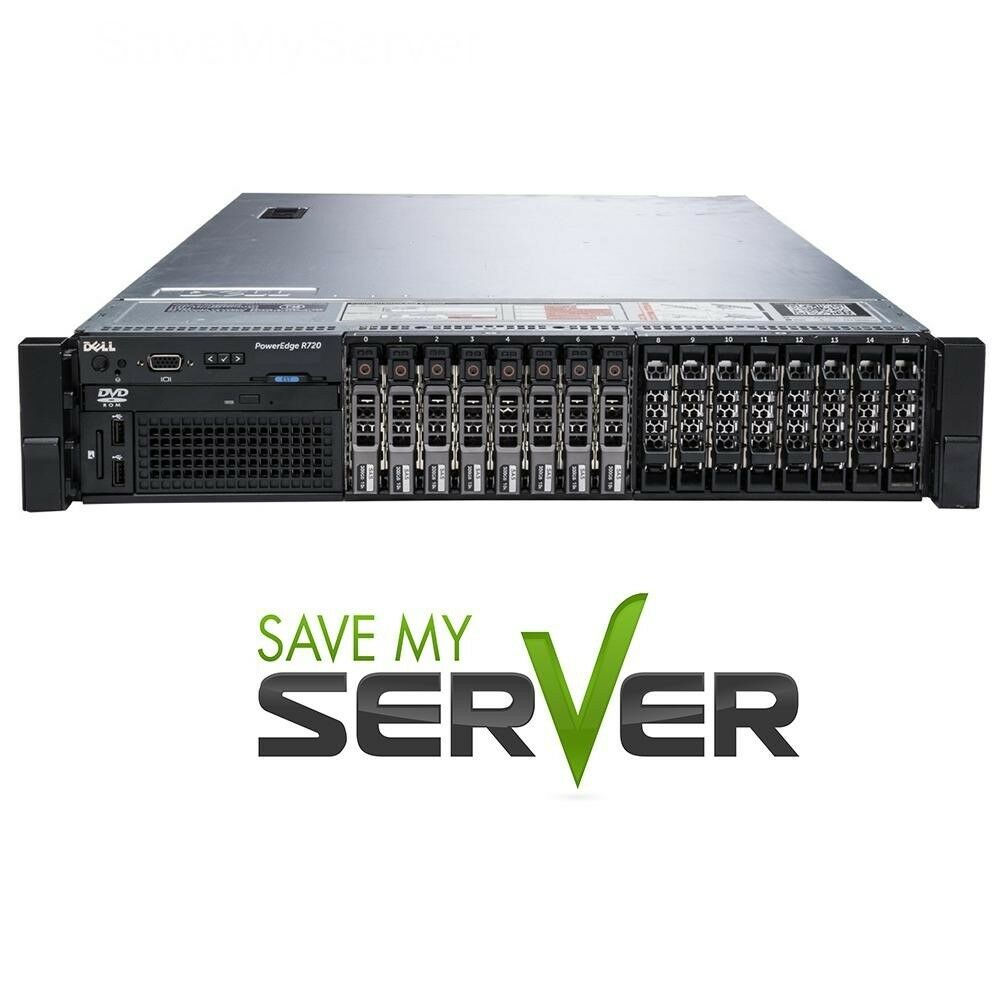 PERC H310 2X Intel Xeon E5-2630L V2 2.4GHz 6C Dell PowerEdge M620 2-Bay SFF Blade Server Certified Refurbished 2X 600GB 10K SAS 2.5 iDRAC 7 Express 16GB DDR3