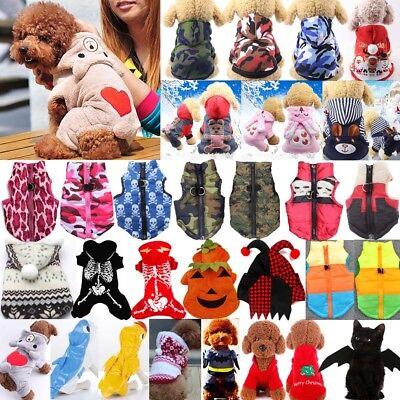 e Hundekleidung Winter Kapuze Hundemantel Hundejacke Kostüm (Katze Kostüme Haustiere)