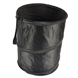 Mini bin for car trash garbage rubbish hanging collapsible foldable waste basket ebay - Collapsible trash bins ...