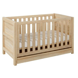 Tutti Bambini Milan (Reclaimed Oak) - 3 piece nursery suite - Nearly new!