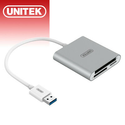UNITEK USB 3.0 Multi in 1 Memory Card Reader for CF SD MicroSD SDHC SDXC Adapter