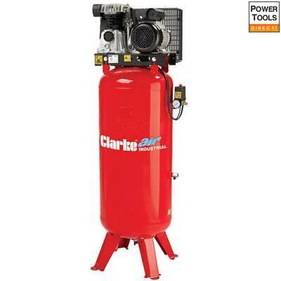 Clarke VE18C150 18cfm 150ltr Industrial Vertical Electric Air Compressor 1ph