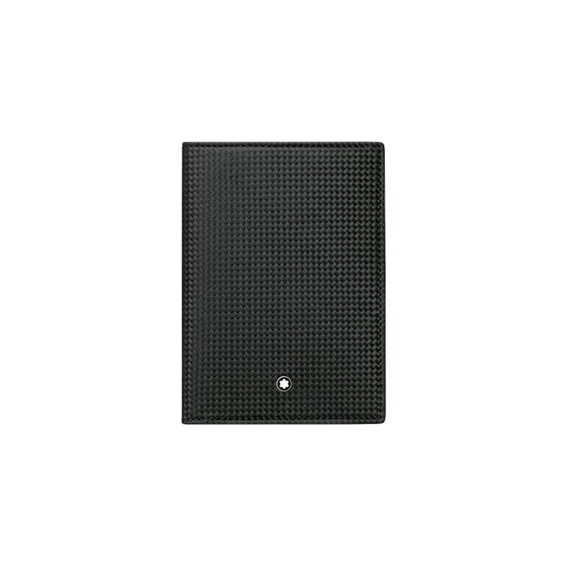 Montblanc Extreme Unisex Medium Black Leather Passport Holder 113754