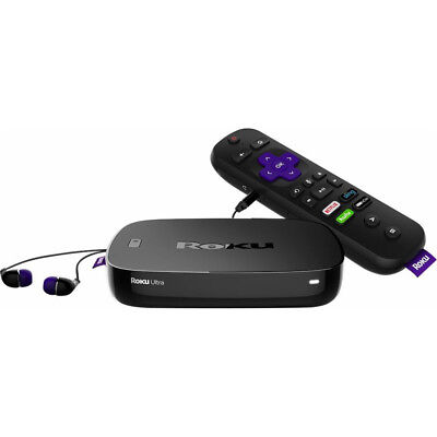 Roku 4660R Multimedia Streaming Media Player with 4K Resolution & Voice Remote