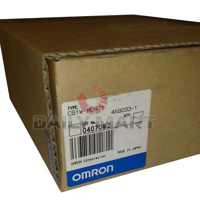 New Omron Programmable Logic Controller Module Cs1w-mch71 Motion Control Unit