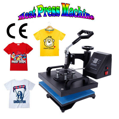 12x10 Swing Away Heat Press Transfer Sublimation Machine For T-shirt 650w 110v